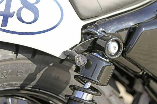 Thunderbike Blinkerhalter VA hinten schwarz - 41-73-020