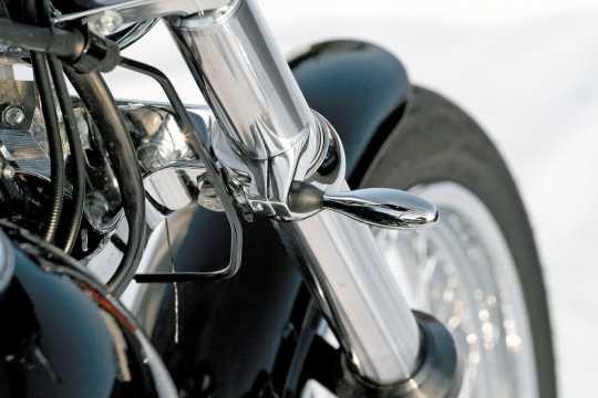 Thunderbike Blinkerhalter Quicky Alu poliert  - 41-99-625V