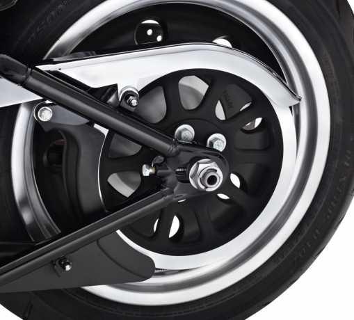 Harley-Davidson Rear Axle Adjuster Hardware chrome  - 41202-08