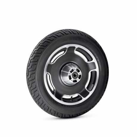 """Harley-Davidson Cast Slotted Disc Wheel 16"""" rear, black  - 40900194"""