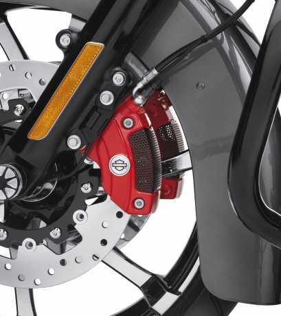 Harley-Davidson Bremssattel Kit rot, vorn Doppelscheibe  - 41300116