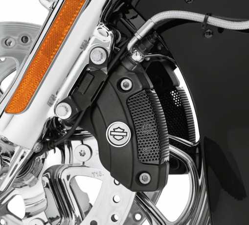 Harley-Davidson Bremssattel-Locheinsatz vorn, schwarz  - 41300154