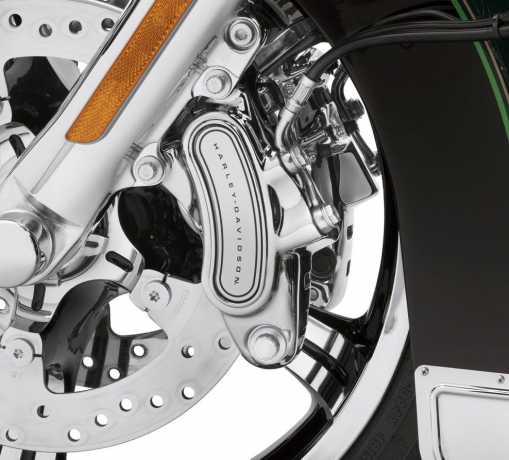 Harley-Davidson Front Dual Disc Brake Caliper Kit chrome  - 41300181