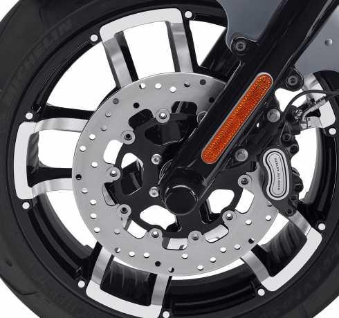 Harley-Davidson Seismic Front Brake Rotor 300mm black  - 41500154