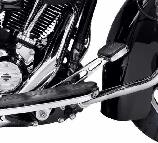 Harley-Davidson Billet Style Rear Brake Lever, extended Reach chrome  - 41600008