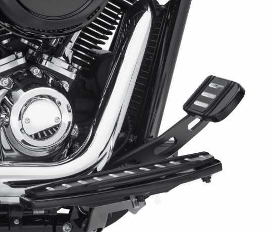 Harley-Davidson Billet Style Bremshebel hinten, matt schwarz  - 41600216