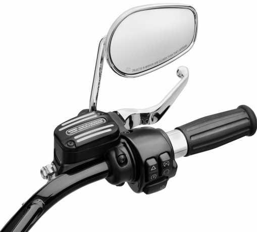 Harley-Davidson Edge Cut Front Brake Master Cylinder Cover  - 41700338