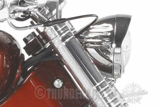Thunderbike Scheinwerfer Candy verchromt  - 42-00-120V