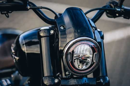 Thunderbike Headlamp Cap Alu roh  - 42-74-070