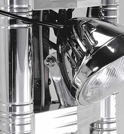 """Thunderbike Scheinwerferhalter 5,5"""" Alu poliert  - 42-99-110"""