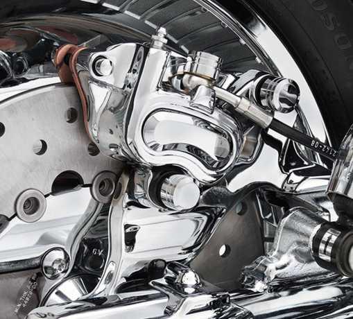 Harley-Davidson Rear Caliper Bracket chrome  - 42002-08