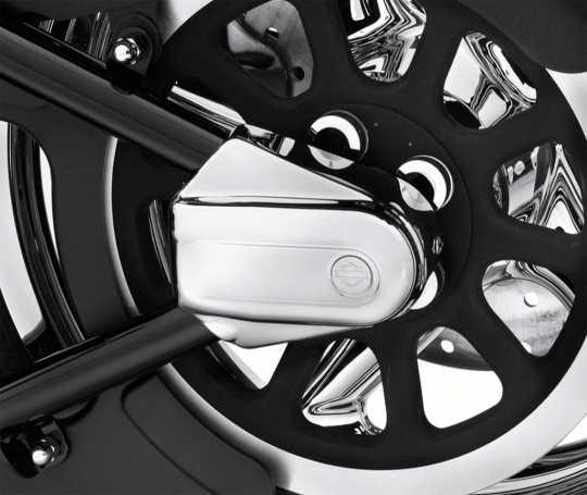 Harley-Davidson Schwingenachsabdeckungen Bar & Shield  - 42069-08