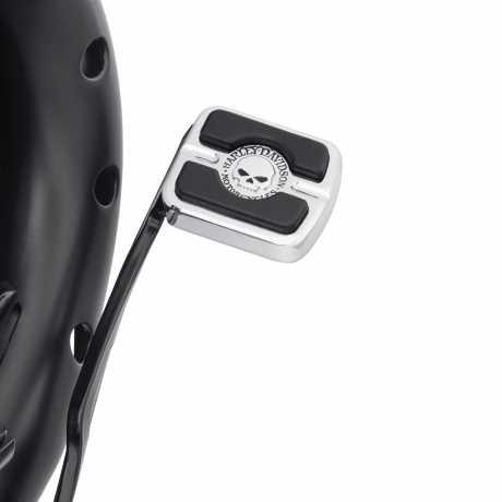 Harley-Davidson Willie G Skull Brake Pedal Pad small  - 42710-04