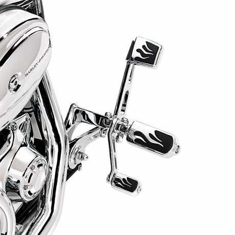 Harley-Davidson Flame Brake Pedal Pad Small  - 42841-03