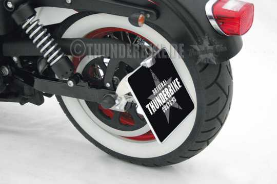 Thunderbike License Plate Ligthing black - 43-99-375