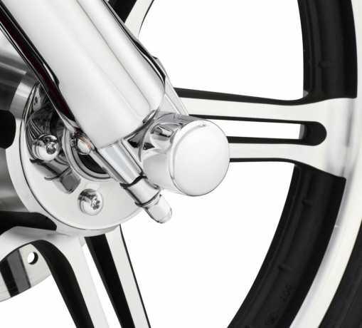 Harley-Davidson Mutternkappen für Vorderachse Druckguss chrom  - 43062-04