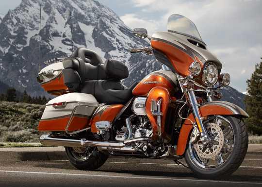 "Harley-Davidson Chisel Custom Wheel 16"" Rear Mirror chrome  - 40900067"