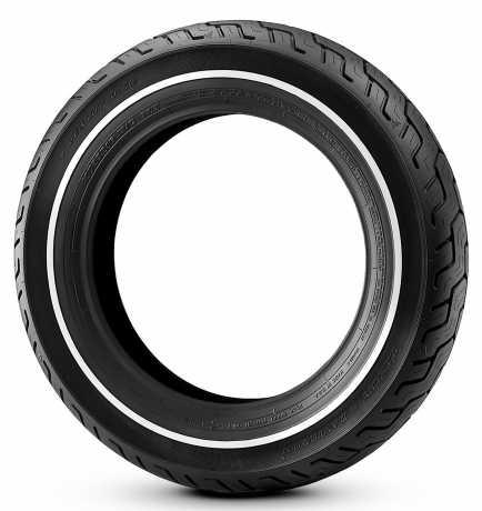 Dunlop Dunlop D402 Rear Tire MU85B16 Slim White Stripe  - 43332-04