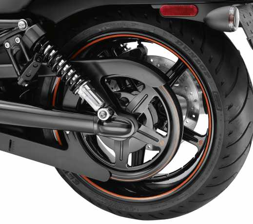 Harley-Davidson Rear Axle Cover Kit Gloss Black  - 43430-09