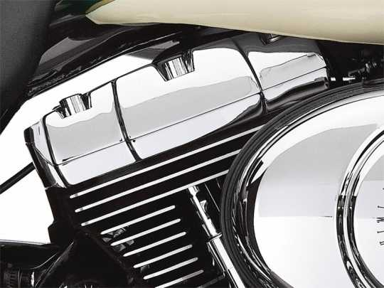 Harley-Davidson Classic Chrome Rocker Box Bolt Covers  - 43868-99