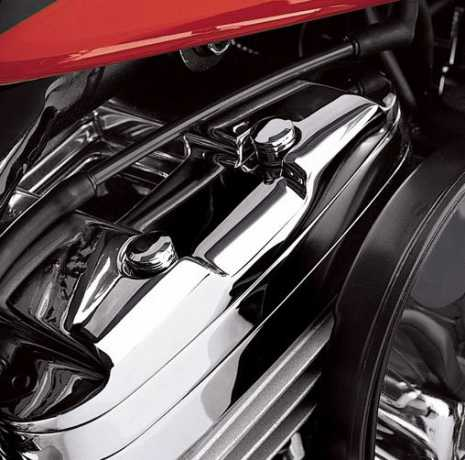 Harley-Davidson Bolzenabdeckungen für Kipphebelgehäuse Classic Chrome  - 43943-01