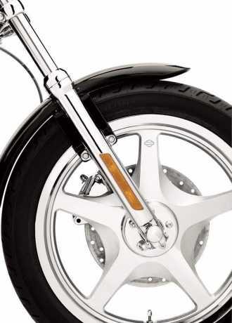 Harley-Davidson Mutternkappen für Vorderachse Druckguss, Chrom  - 44117-07A