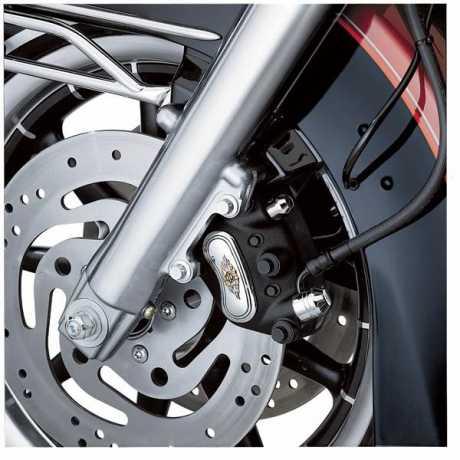 Harley-Davidson Bremssatteleinsatz mit Harley-Davidson Schriftzug  - 44476-99