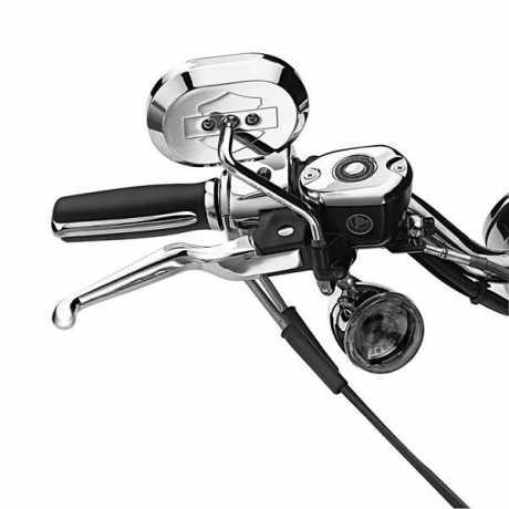 Harley-Davidson Hand Control Lever Kit, chrome  - 45075-07