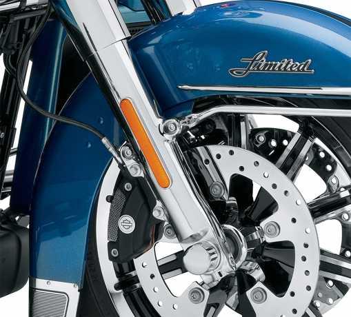 Harley-Davidson Lower Fork Sliders chrome  - 45500171