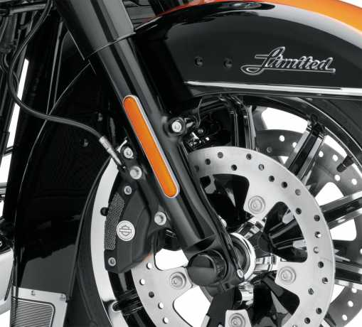 Harley-Davidson Tauchrohre schwarz  - 45500172B