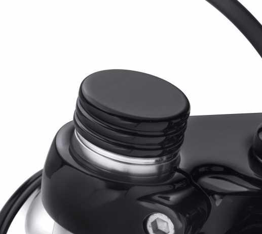 Harley-Davidson Upper Fork Nut Covers Black  - 45500515