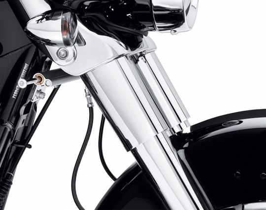 Harley-Davidson Tauchrohrabdeckung Oben chrom  - 45600022