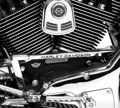 "Harley-Davidson Gear Shift Linkage Cover ""Harley-Davidson Script  - 46303-01"