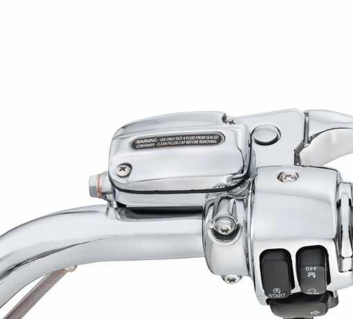 Harley-Davidson Kupplungshalter & Hauptbremszylinder Reservoir chrom  - 46418-05B