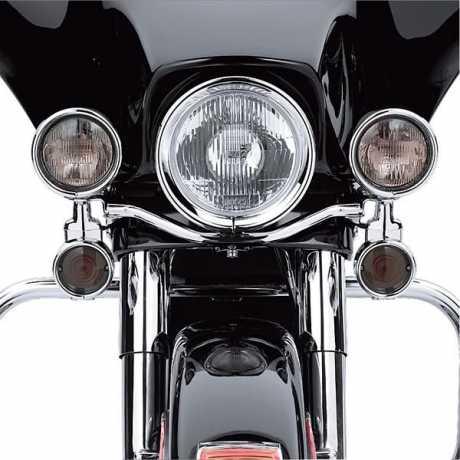 Harley-Davidson Verkleidungsschürze schwarz  - 46559-03