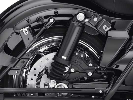 Harley-Davidson Fender Strut Covers gloss black  - 47498-09