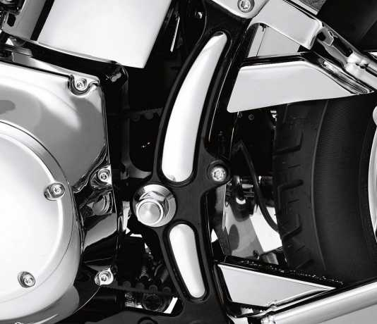 Harley-Davidson Contoured Frame Inserts chrome  - 48211-08