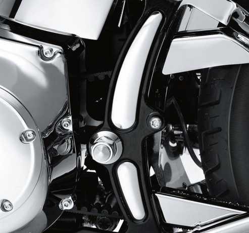 Harley-Davidson Konturierte Rahmeneinsätze chrom  - 48212-08