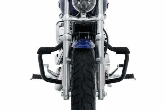 Harley-Davidson Mustache Engine Guard gloss black  - 49000006