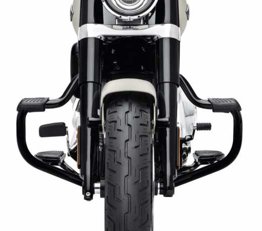 Harley-Davidson Mustache Motorschutzbügel schwarz  - 49000141