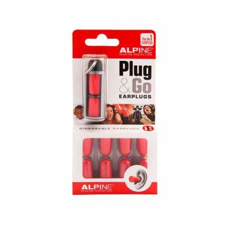 Alpine Alpine Plug & Go Einweg-Ohrstöpsel  - 501001