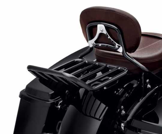 Harley-Davidson Abnehmbarer Gepäckträger für Doppelsitzbank schwarz  - 50300042A