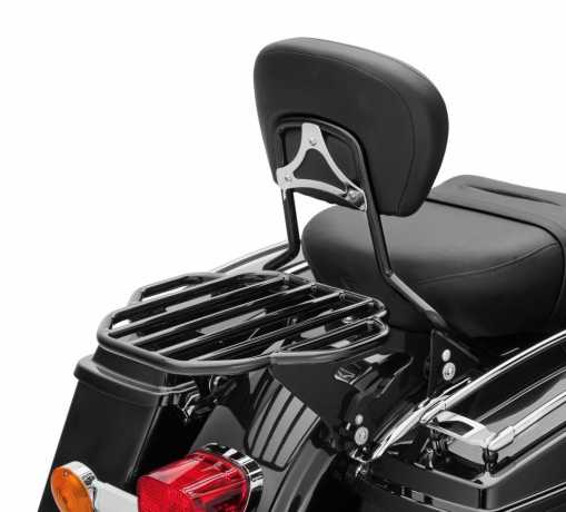 Harley-Davidson Abnehmbarer King Gepäckträger für Doppelsitzbank schwarz  - 50300058A