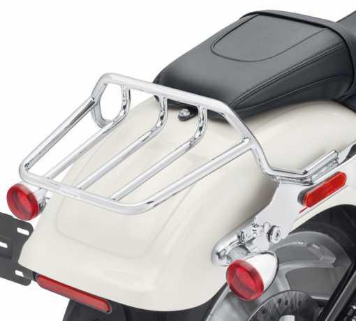 Harley-Davidson HoldFast Two-Up Gepäckträger chrom  - 50300134
