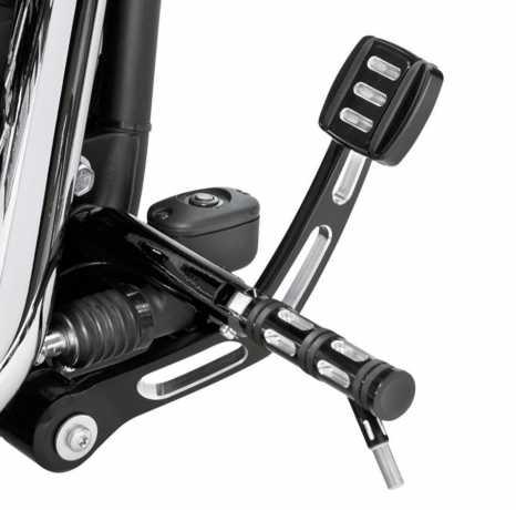 Harley-Davidson Edge Cut Fußrasten mit Verschleißstück  - 50500030