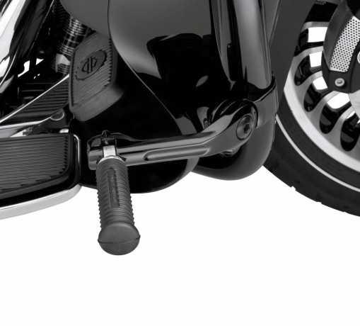 """Harley-Davidson Montagekit für einstellbare Highway Fußrasten 5"""" Lang abgewinkelt schwarz  - 50500167"""