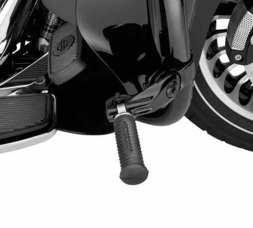 """Harley-Davidson Montagekit für einstellbare Highway Fußrasten 2.5"""" Kurz Abgewinkelt schwarz  - 50500168"""