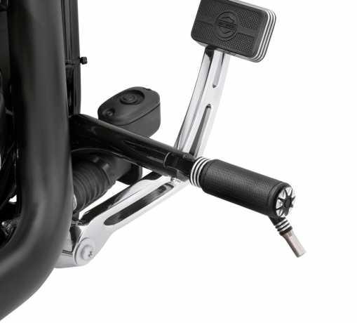 Harley-Davidson Burst Footpegs with Styled Wear Peg  - 50500441