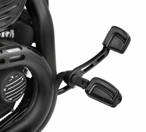 Harley-Davidson Airflow Footpegs gloss black  - 50500717