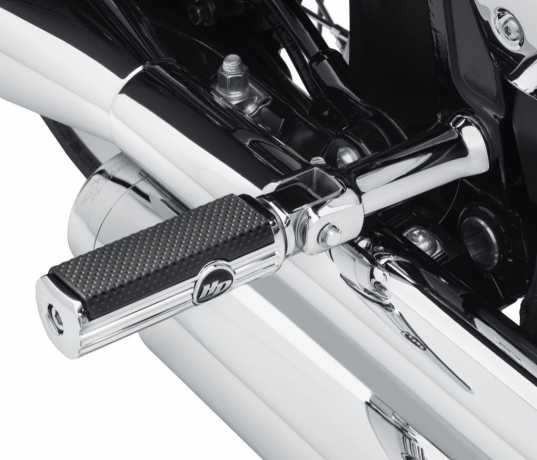 Harley-Davidson Passenger Footpeg Support Kit chrome  - 50500771